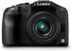 Panasonic Lumix DMC-G6 Czarny + 14-42mm + 45-150mm
