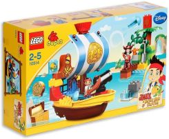 Klocki Lego Duplo Jake Never Land Pirates Jake's Pirate Ship Bucky 10514 - zdjęcie 1