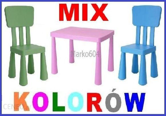Ikea Mamut Stolik 2 Krzesełka Zestaw Mammut