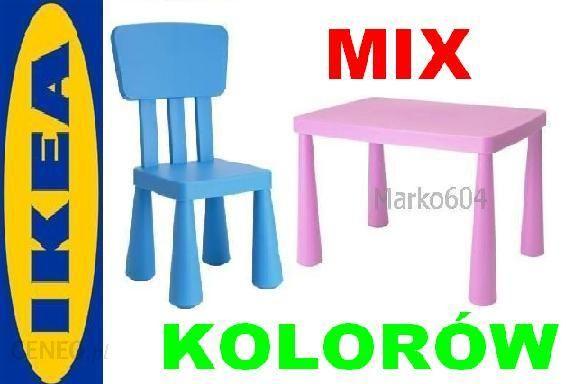 Ikea Mamut Stolik 1 Krzesełko Zestaw Mammut