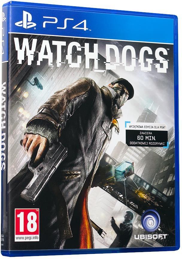 Gra Ps4 Watch Dogs Gra Ps4 Ceny I Opinie Ceneo Pl