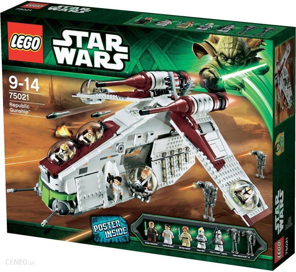 Klocki Lego Star Wars Republic Gunship 75021 Ceny I Opinie Ceneopl