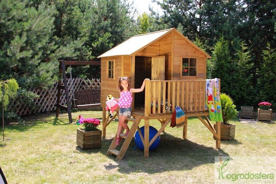 domek ogrodowy dla dzieci jerzyk bez zjeżdżalni
