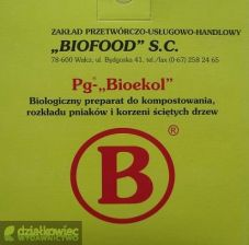 Biofood Pg-Bioekol Preparaty do Kompostowania