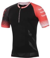 CompresSport koszulka do biegania kompresyjna męska TRAIL RUNNING SHIRT SS (TRAIL SHIRT BK)