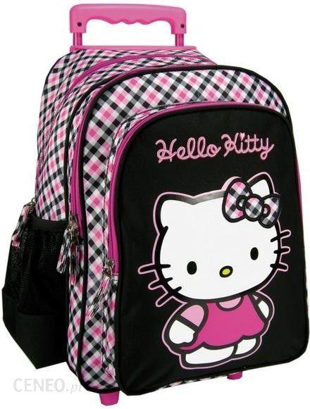 411d6f135e014 Derform Plecak 15 na kółkach Hello Kitty 34  613009  - Ceny i opinie ...