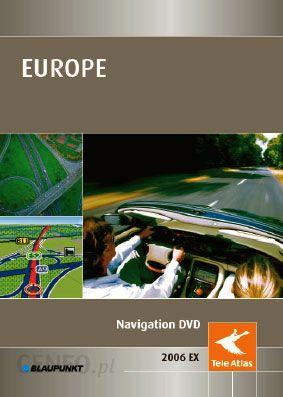 Mapa Do Nawigacji Tele Atlas Mapa Polski I Europy Dvd Ex 2007 Ver