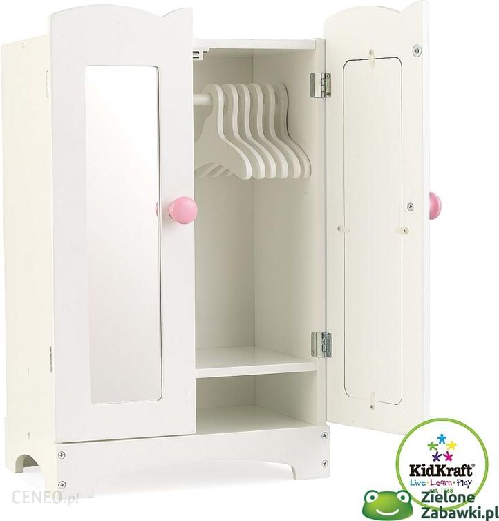 szafa dla lalek z lustrami kidkraft meble dla lalek ceny i opinie. Black Bedroom Furniture Sets. Home Design Ideas