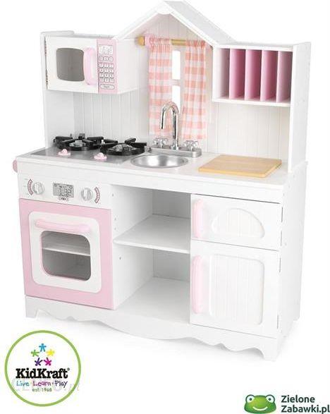 Kuchnia Drewniana Nowoczesność Kidkraft Kuchnie Dla Dzieci