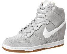 buy online 938e2 7c069 Nike Sportswear DUNK SKY Botki na koturnie szary (528899)