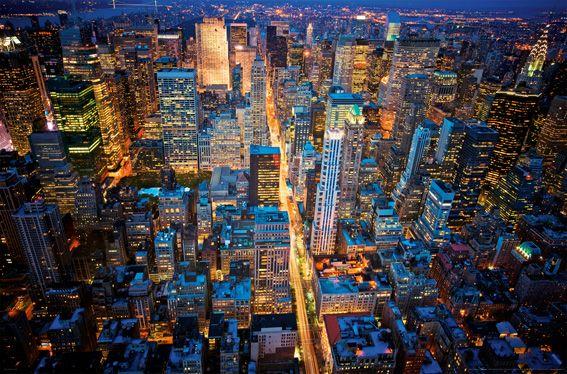 Nowy Jork Miasto Nocą Plakat Opinie I Atrakcyjne Ceny Na Ceneopl