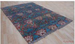 Kare Design Blossom Dywan Z Wiskozy Niebieski 170x240cm 35104 Opinie I Atrakcyjne Ceny Na Ceneopl