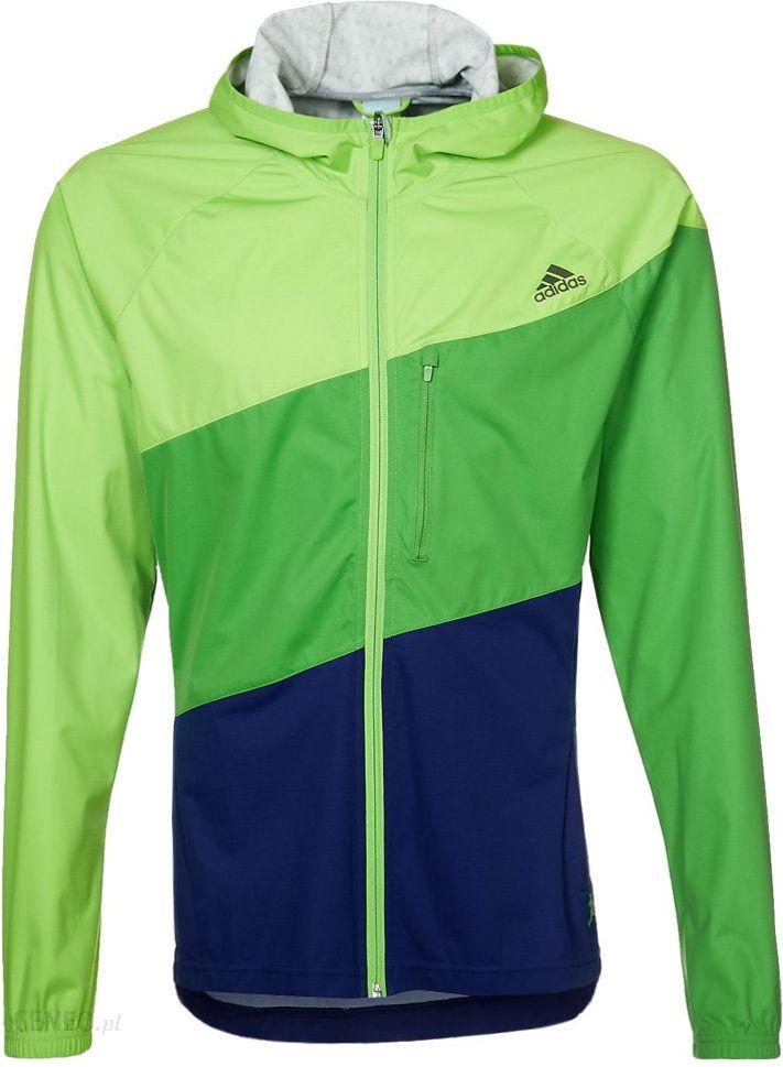 Adidas Performance Kurtka do biegania zielony (G82148) Ceny i opinie Ceneo.pl