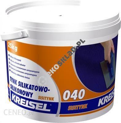 Tynk Kreisel Tynk Zewnetrzny Silikatowo Silikonowy Sisitynk 040
