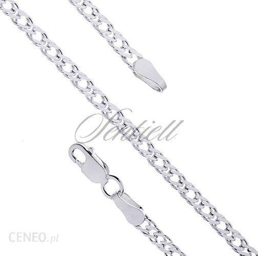 9e274385c73c5a Made in Italy Łańcuszek srebrny Rombus podwójny diamentowany O 050 waga od  4,3g -