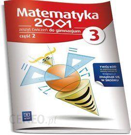 matematyka 2001 klasa 2 gimnazjum podręcznik pdf