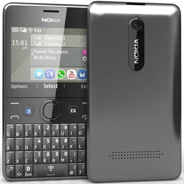 Nokia Asha 210 Dual Sim Czarny Opinie I Ceny Na Ceneo Pl