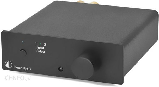 PRO-JECT Stereo Box S czarny