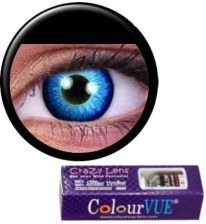 MaxVue Vision Crazy Wild Eyes - Space Blue 2 szt.