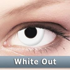 MaxVue Vision Crazy Wild Eyes - WhiteOut 2 szt.