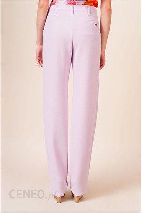 b83dc7a0 Versace Jeans Spodnie w kolorze lila - Ceny i opinie - Ceneo.pl