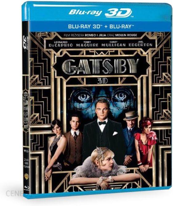 Wielki Gatsby 3D (The Great Gatsby 3D) (Blu-ray)