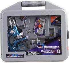 Alltoys Mikroskop Deluxe, Zestaw 62 Elementów, 900X