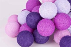 Cotton Ball Lights Violets 50 Kul Violets