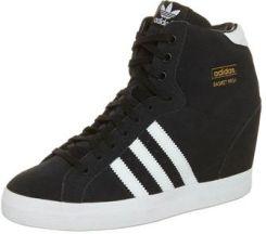 185c3428e82cb Adidas Originals BASKET PROFI HEEL Botki na koturnie czarny (G95650 ...