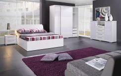 Jurek łóżko Do Sypialni Iva 140x200 Kolor Białyczarno Srebrny Połysk Opinie I Atrakcyjne Ceny Na Ceneopl