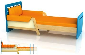 Timoore Materac Do łóżka Simple Niebieski 90x200