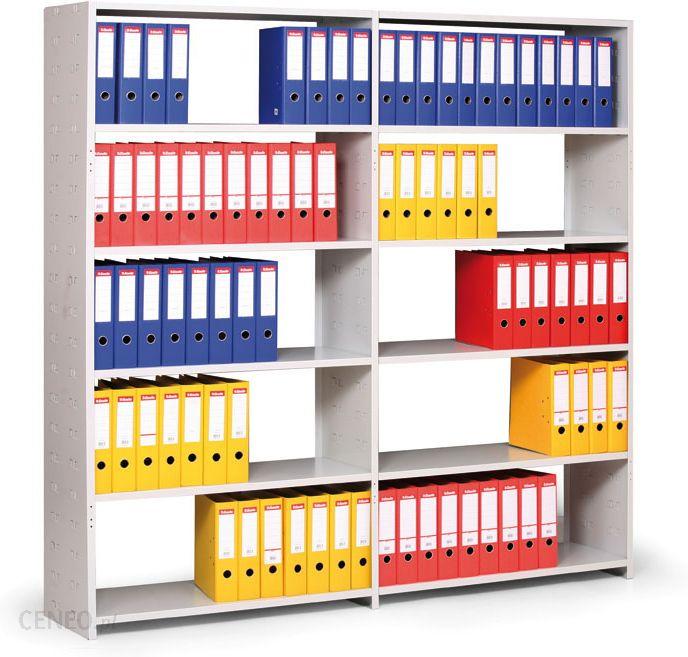 Rega magazynowy kovona rega y na segregatory z bocznymi for Estantes de oficina