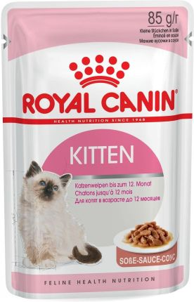 Royal Canin Kitten Instinctive w sosie 12x85g