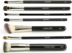Hakuro Zestaw 7 Profesjonalnych Pedzli Do Makijazu Opinie I Ceny Na Ceneo Pl