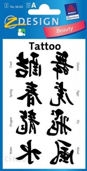 Russell Tatuaże Chińskie Znaki Ceny I Opinie Ceneopl