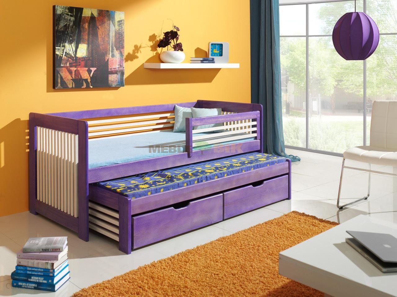 Bed łóżko Anatol 80x185cm
