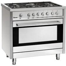 Bartscher 5 Palnikowa Kuchnia Gazowa Z Elektrycznym Wielofunkcyjnym Piekarnikiem Moc Cał 1395kw 1509851