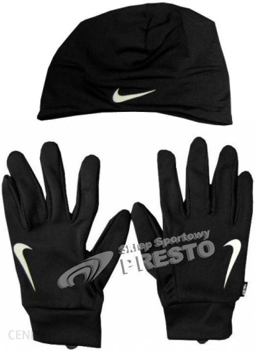 Nike zestaw do biegania czapka + rękawiczki Dri Fit Running BeanieGlove Set