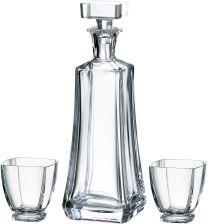 922504cacf7fe3 Bohemia Komplet karafka 700 ml + 6 szklanek whisky AREZZO 880635