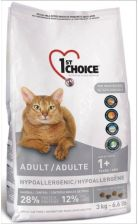 1St Choice Cat Adult Hypoallergenic Duck 2,72Kg