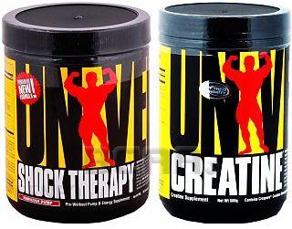 013fd0b326e4 Universal Shock Therapy + Creatine Monohydrate 200G + 500G - Ceny i ...