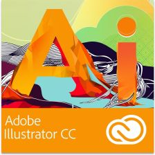 Adobe Illustrator CC PL WIN/MAC (65224686BA01A12)