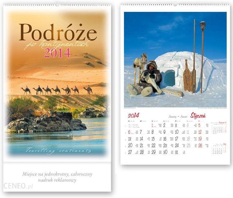 Kalendarz Wieloplanszowy Podroze Po Kontynentach Rw13 2014 Ceny I Opinie Ceneo Pl