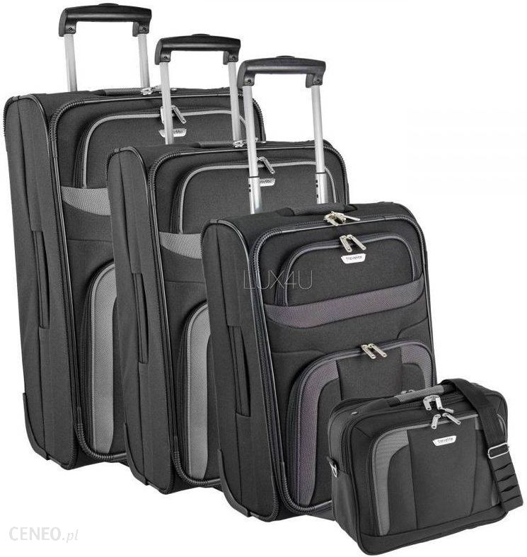 b808750bfa82d Travelite Komplet walizek + torba pokładowa Travelite Orlando - Komplet  walizek + torba pokładowa Travelite Orlando
