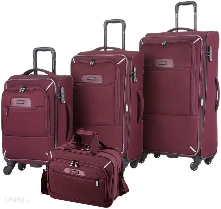 32e8c12be094e Travelite Komplet walizek + torba pokładowa Travelite CrossLite 2.0 - Komplet  walizek + torba pokładowa Travelite
