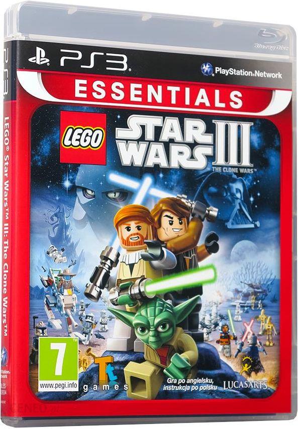 Lego Star Wars Iii The Clone Wars Essentials Gra Ps3 Ceneopl