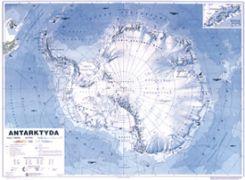Mapa Scienna Antarktyda Mapa Scienna Ogolnogeograficzna