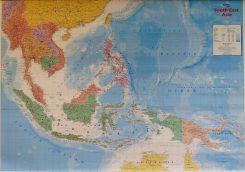 Mapa Scienna Azja Poludniowo Wschodnia Mapa Scienna Polityczna