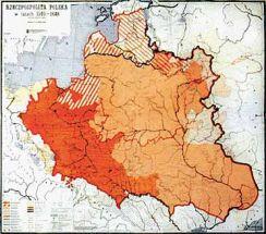 Mapa Scienna Rzeczpospolita Polska W Latach 1505 1648 Mapa