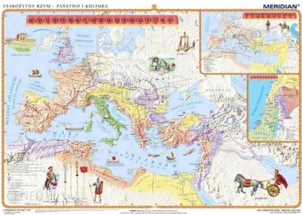 Mapa ścienna Starożytny Rzym Państwo I Kultura Mapa ścienna Ceny I Opinie Ceneo Pl